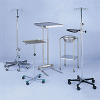 Stainless Steel IV & Mayo Stands